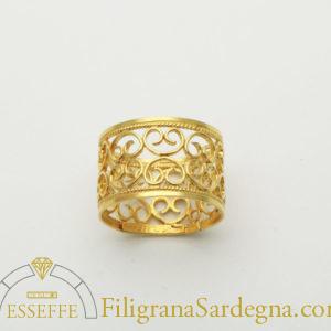 Anello-cuori-di-Sardegna-io-oro fede sarda