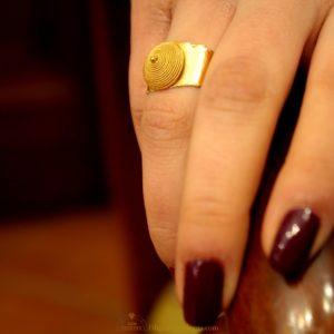 anello corbula filigrana