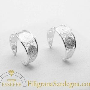 Cerchi in filigrana d'argento