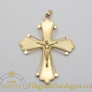Croce in lastra d'oro