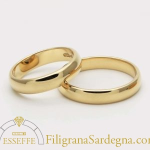 Fedi matrimoniali classiche