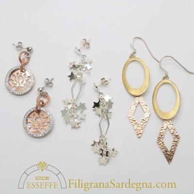 Offerta set orecchini in argento