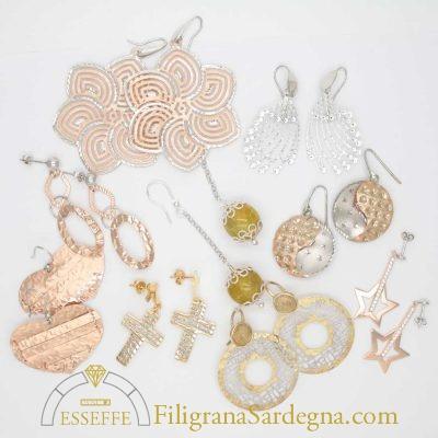 Offerta tris orecchini in argento
