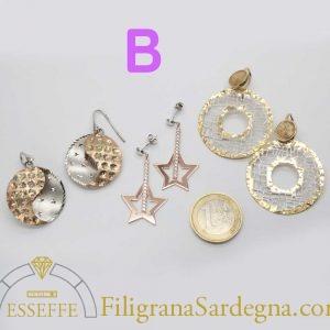! Offerta tris orecchini in argento - Set B 1