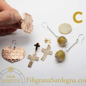 ! Offerta tris orecchini in argento - Set C 1