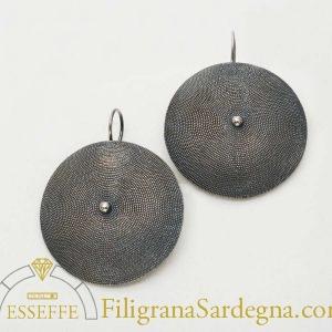 Orecchini a corbula in filigrana d'argento