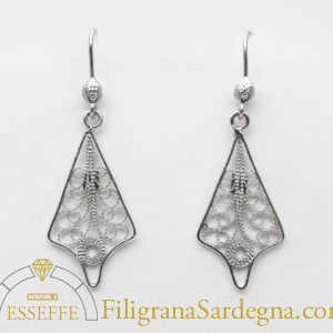 Orecchini fantasia in filigrana d'argento