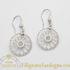 Orecchini fantasia in filigrana argento 3