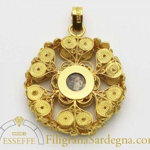 Patena del rosario in filigrana(piccola)